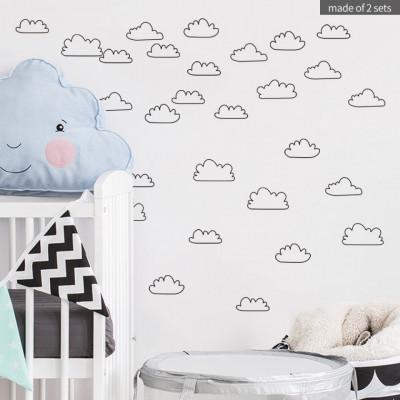Sticker Empty Clouds