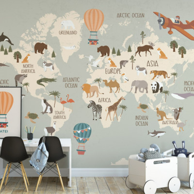 Tapet Travel the World 1
