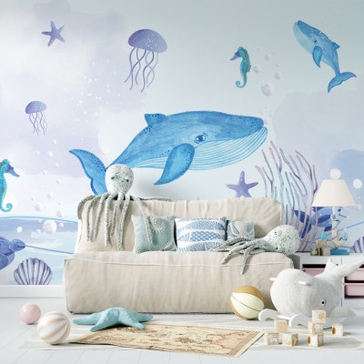 Tapet Under the Sea