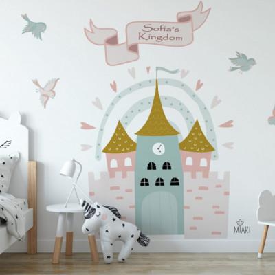 Sticker Princess in a Castle