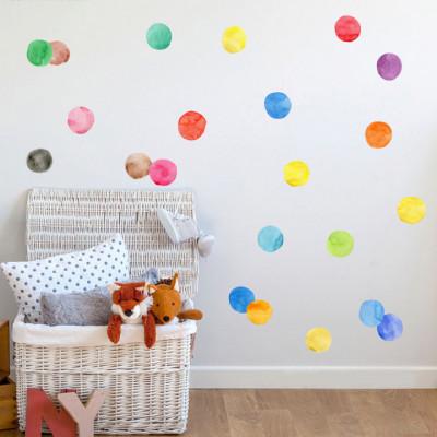 Sticker Watercolor Spots
