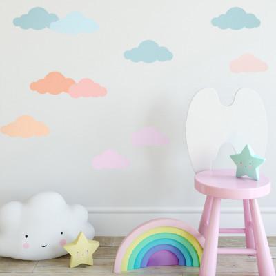 Sticker Blushy Clouds