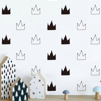Sticker Scandi Crowns