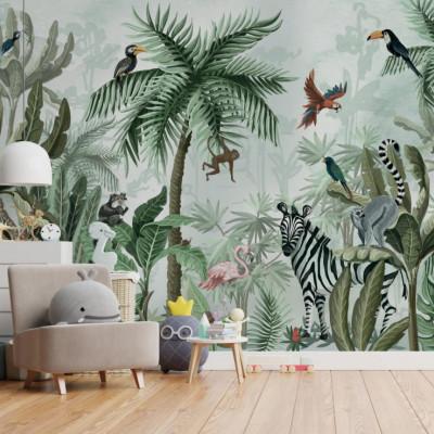 Tapet Inhabited Rita's Jungle