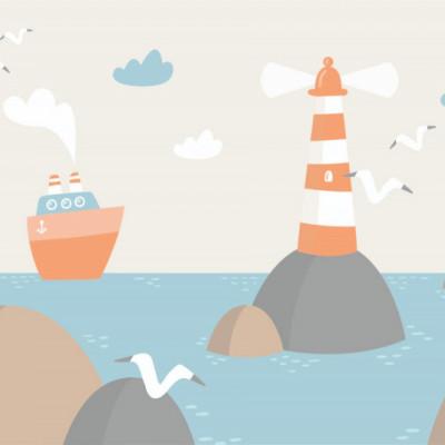 Tapet Lighthouse