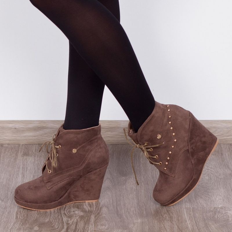 "Botine ""MireaFashion"" Cod: A209 Khaki (D15)"