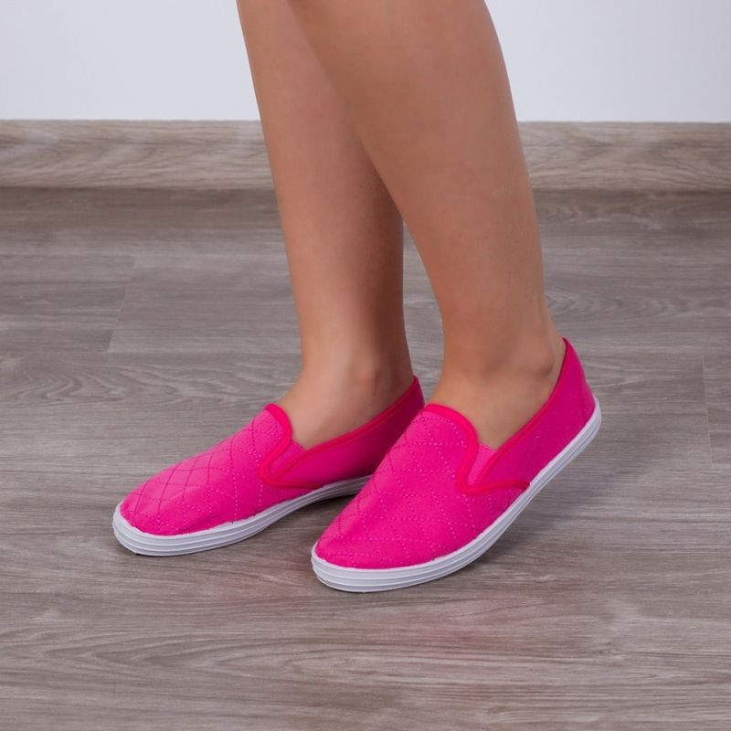 "Espadrile ""MireaFashion"" Cod: 233A Fucshia (M 6)"