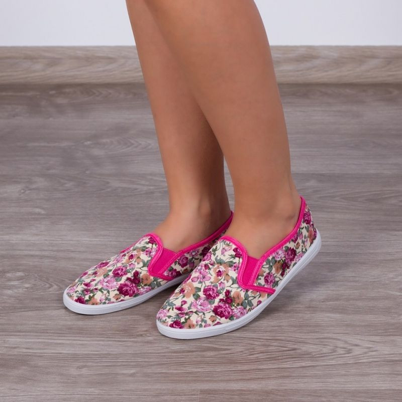 "Espadrile ""MireaFashion"" Cod: 812 Pink (YY 1)"