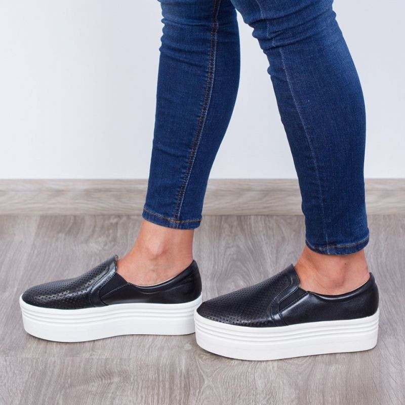 "Espadrile ""MireaFashion"" Cod: JY02 Black(F7)"