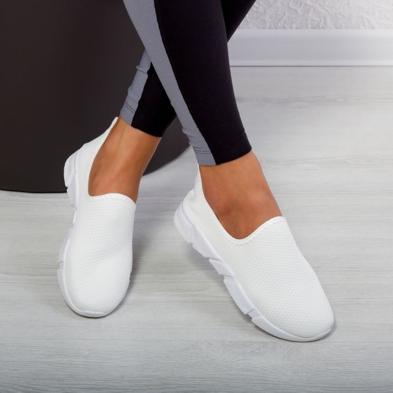 "Espadrile ""MireaFashion"" Cod: Y22 WHITE (O7)"