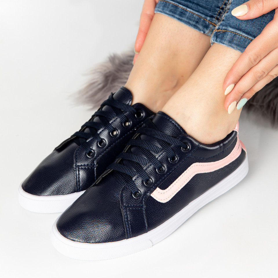 "Pantofi Sport ""MireaFashion"" Cod: HQ-116 NAVY (R1)"