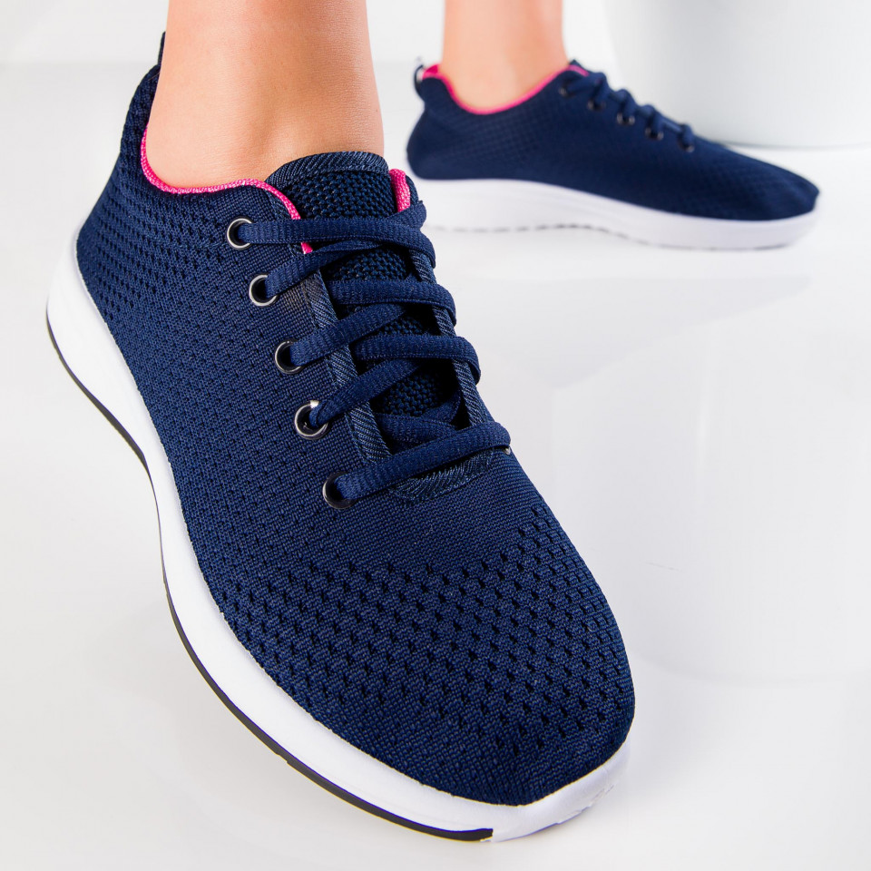 "Pantofi Sport ""MireaFashion"" Cod: HQ776 NAVY (H15)"