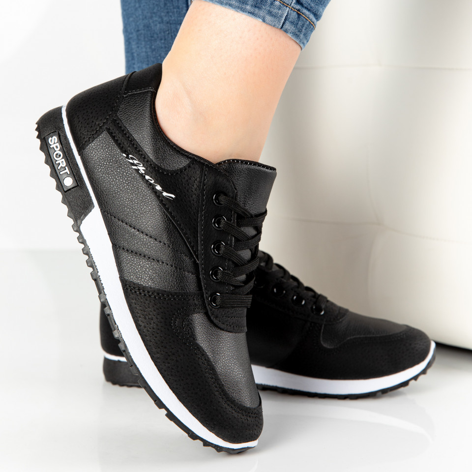 "Pantofi Sport ""MireaFashion"" Cod: 827-1 BLACK (F12-13)"