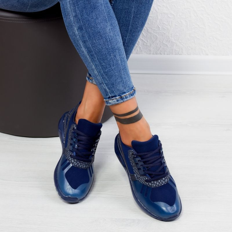"Pantofi Sport ""MireaFashion"" Cod: ET-102 DARK BLUE (C12)"