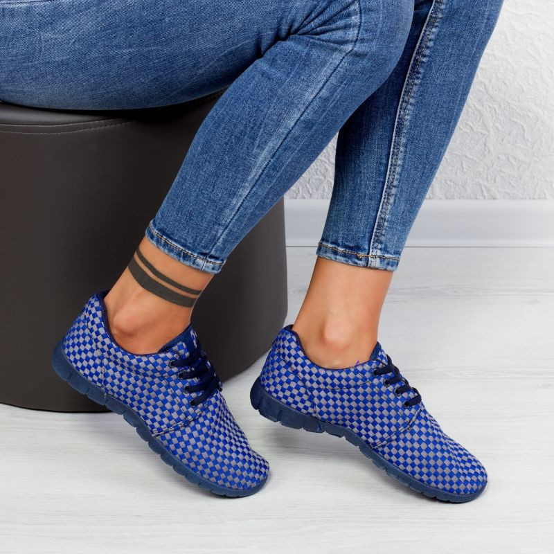 "Pantofi Sport ""MireaFashion"" Cod: T606 Blue (GG 4)"