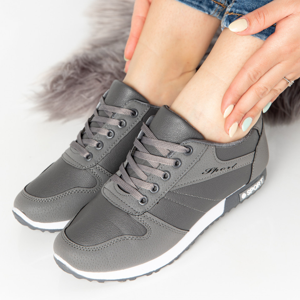 "Pantofi Sport ""MireaFashion"" Cod: 827-4 GREY (B15)"
