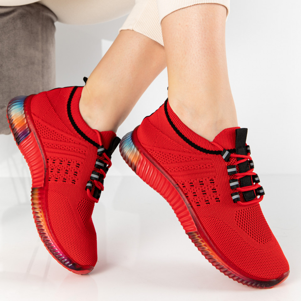 "Pantofi Sport ""MireaFashion"" Cod: A-9076 RED (C1-2)"