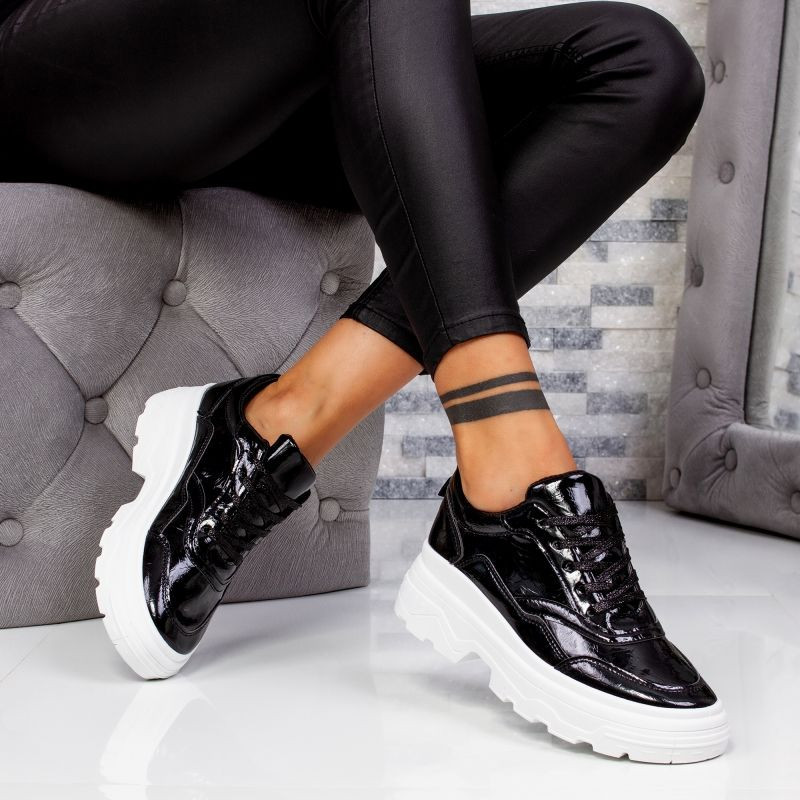 "Pantofi Sport ""MireaFashion"" Cod: D739 BLACK (HH1)"