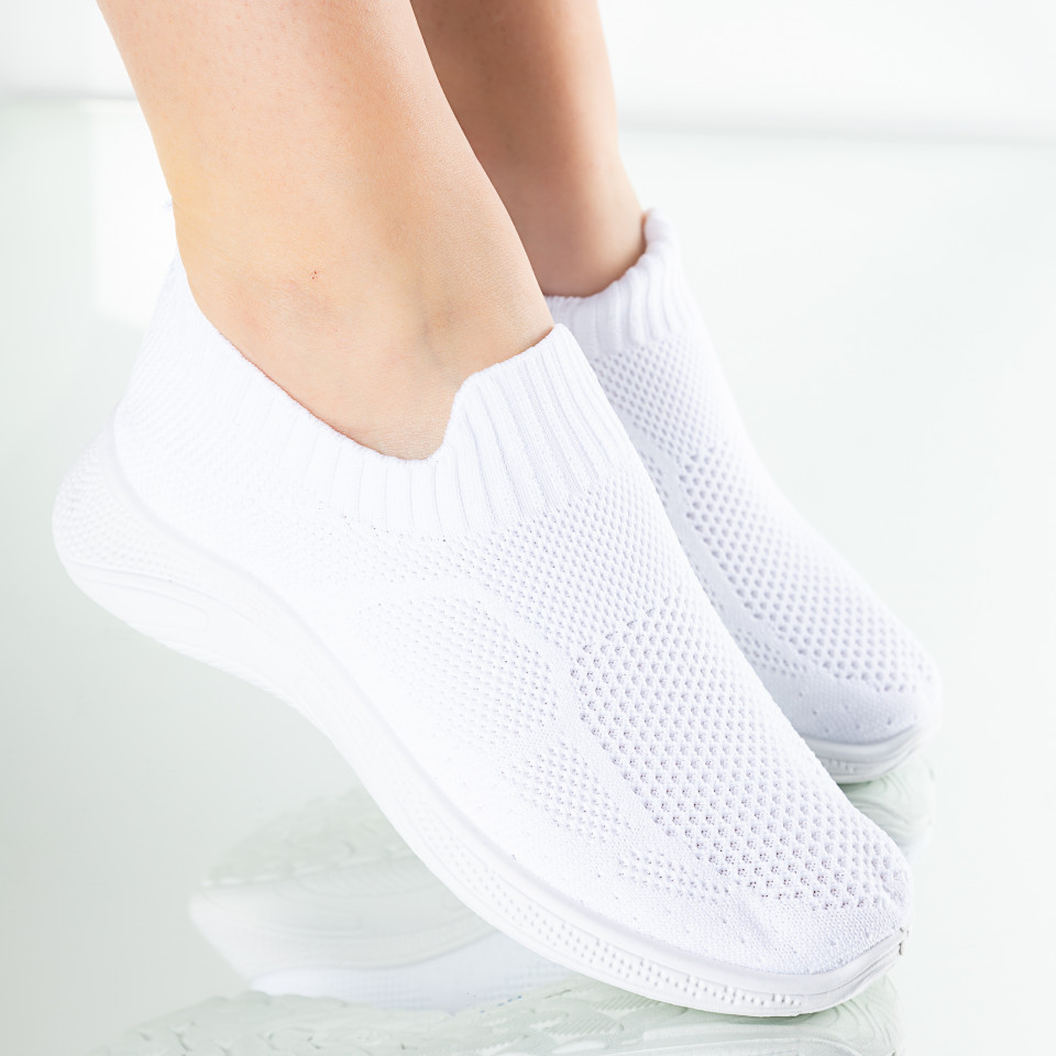 "Pantofi Sport ""MireaFashion"" Cod: H-1 WHITE"