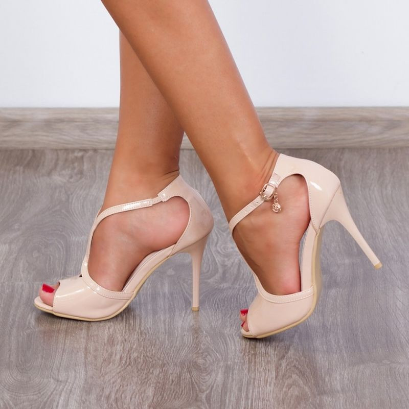 "Sandale ""MireaFashion"" Cod: HLX1102 Nude(E 11)"