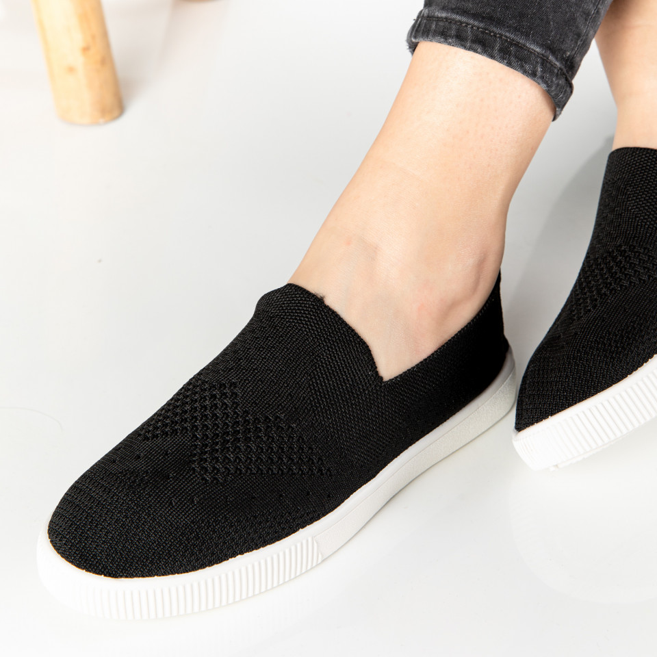 "Espadrile ""MireaFashion"" Cod: 196-2 BLACK"