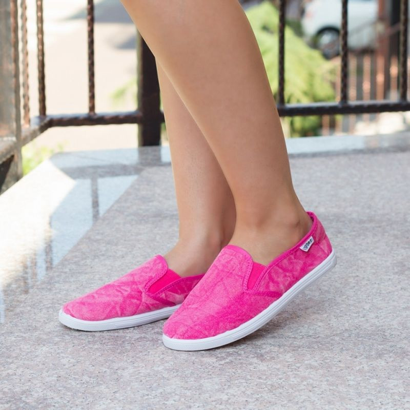 "Espadrile ""MireaFashion"" Cod: 6539 Fucshia (OO1)"