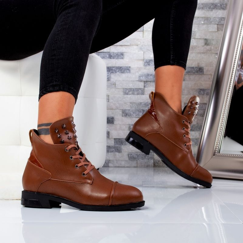 "Ghete ""MireaFashion"" Cod: 303 BROWN (M5)"