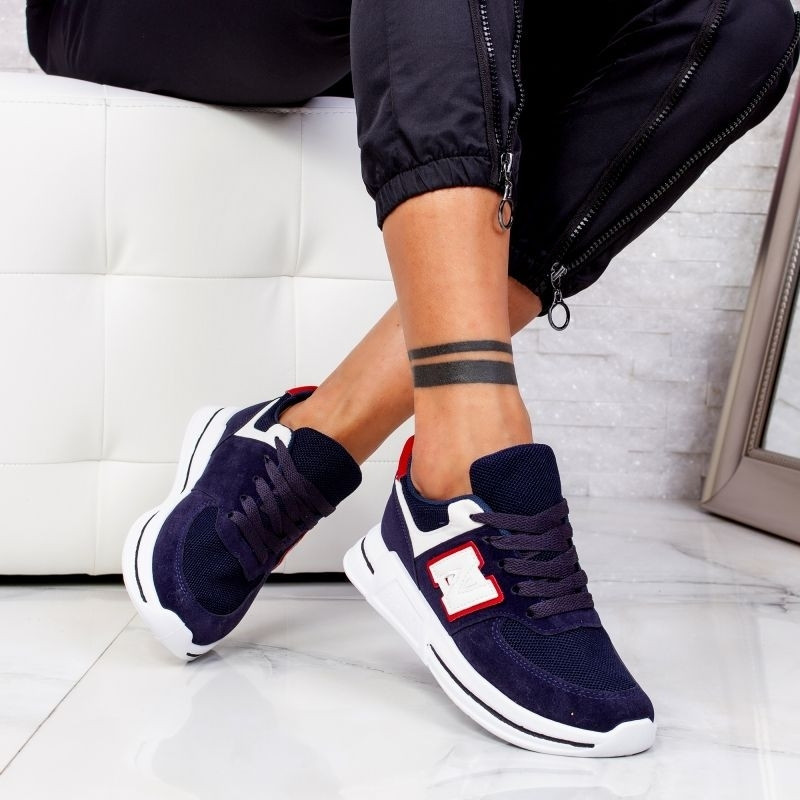 "Pantofi Sport ""MireaFashion"" Cod: ABC-311 NAVY (O3)"