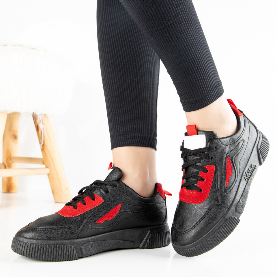"Pantofi Sport ""MireaFashion"" Cod: HQ-80 BLACK (S14)"