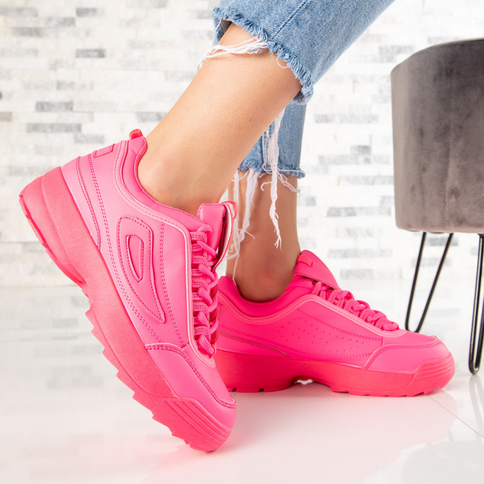 "Pantofi Sport ""MireaFashion"" Cod: J99-6 ROSE (J3)"