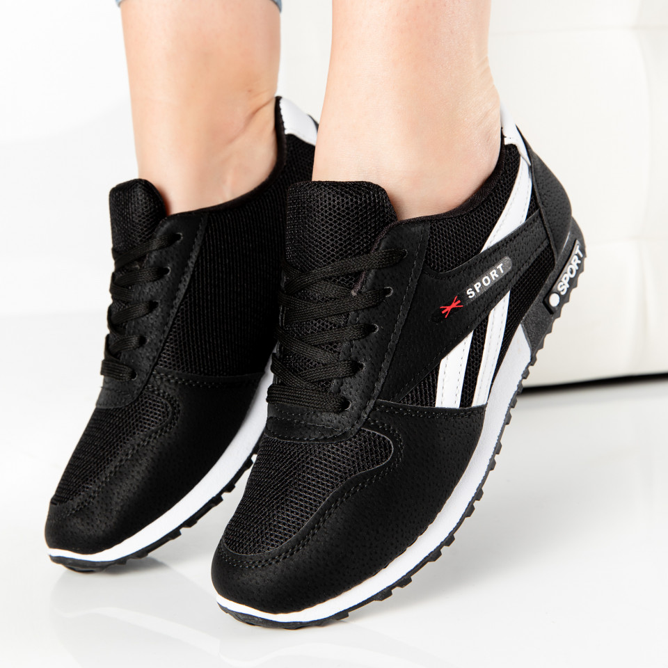 "Pantofi Sport ""MireaFashion"" Cod: 821-2 BLACK (G1)"