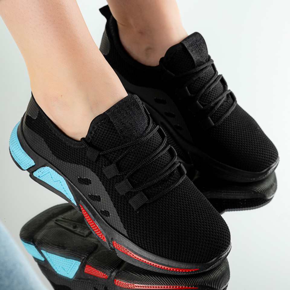 "Pantofi Sport ""MireaFashion"" Cod: AG1 BLACK (Q15)"