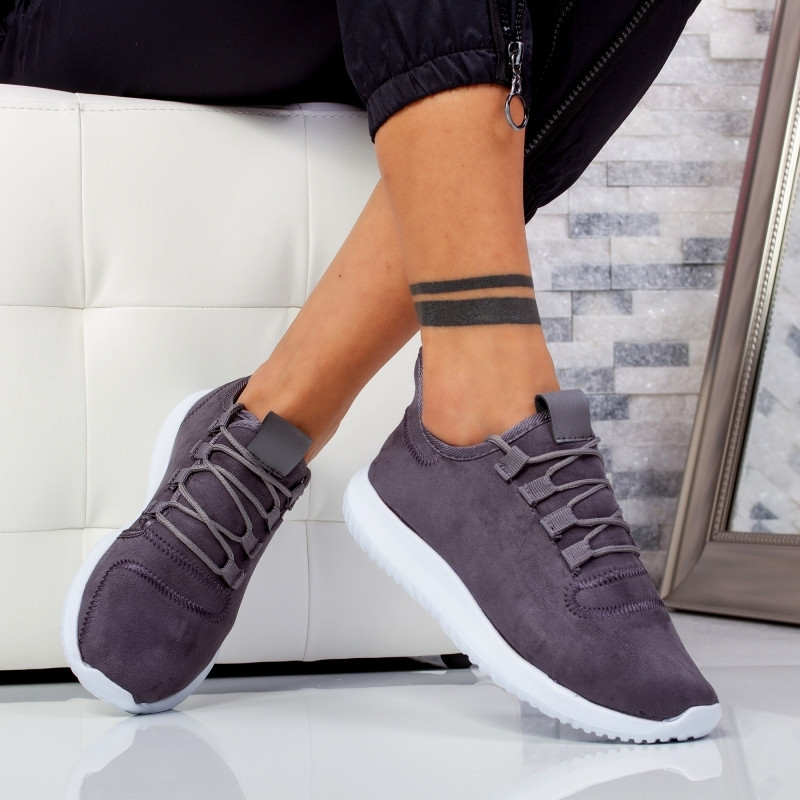"Pantofi Sport ""MireaFashion"" Cod: W816 GREY (F3)"