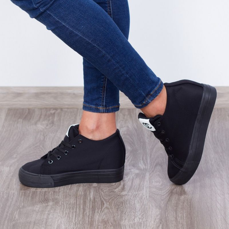 "Sneakers ""MireaFashion"" Cod: H2039 Black (AA 14)"