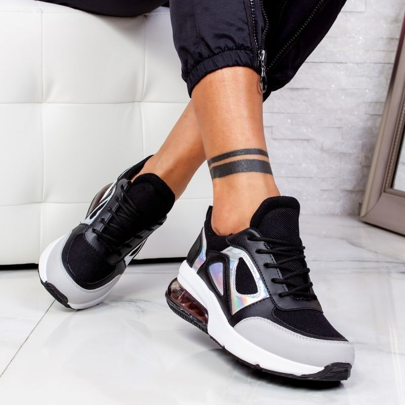 "Pantofi Sport ""MireaFashion"" Cod: 2233 BLACK (C16)"