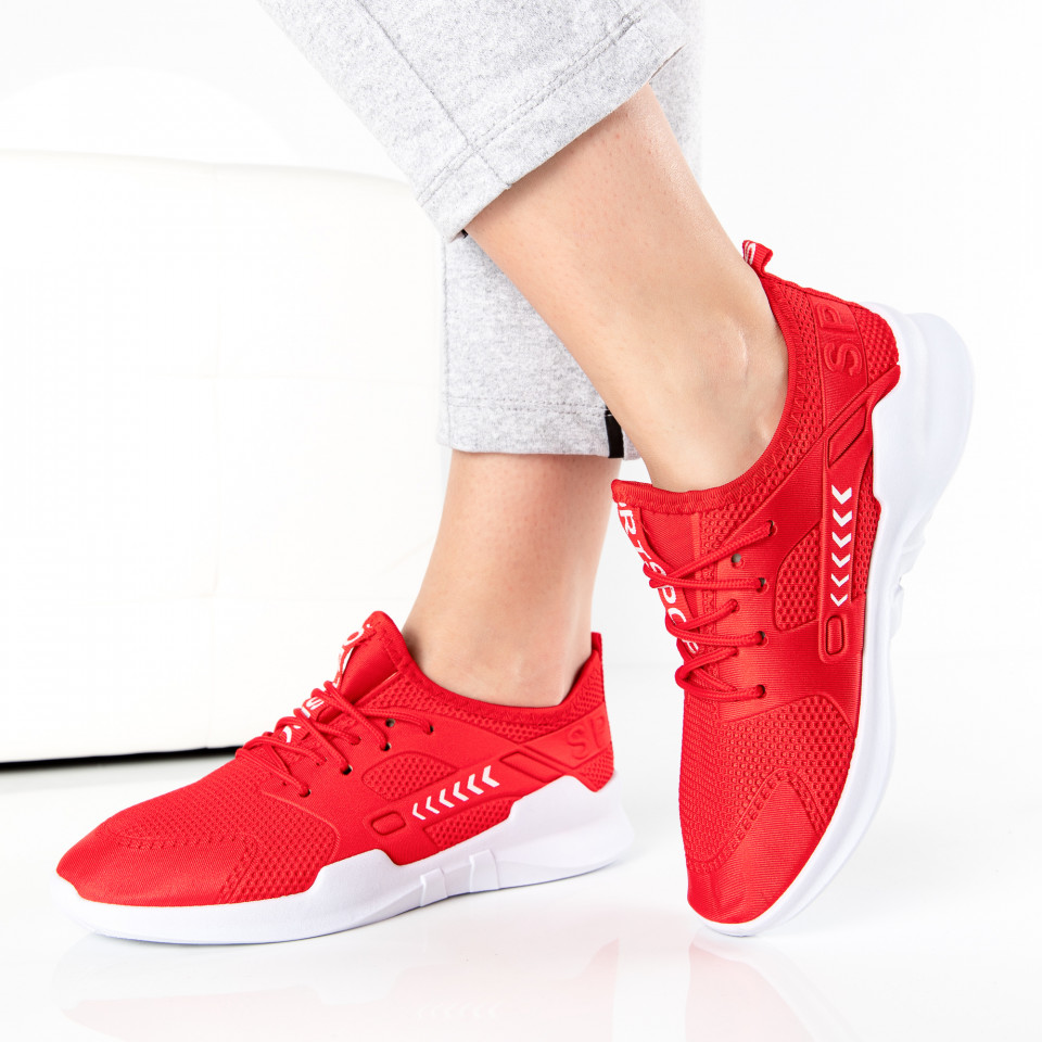 "Pantofi Sport ""MireaFashion"" Cod: E-230 RED (Q12)"