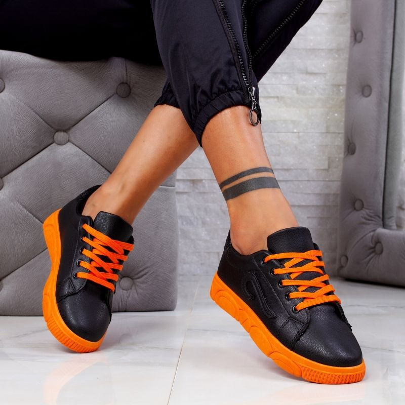 "Pantofi Sport ""MireaFashion"" Cod: HQ-91 BLACK (UU1)"