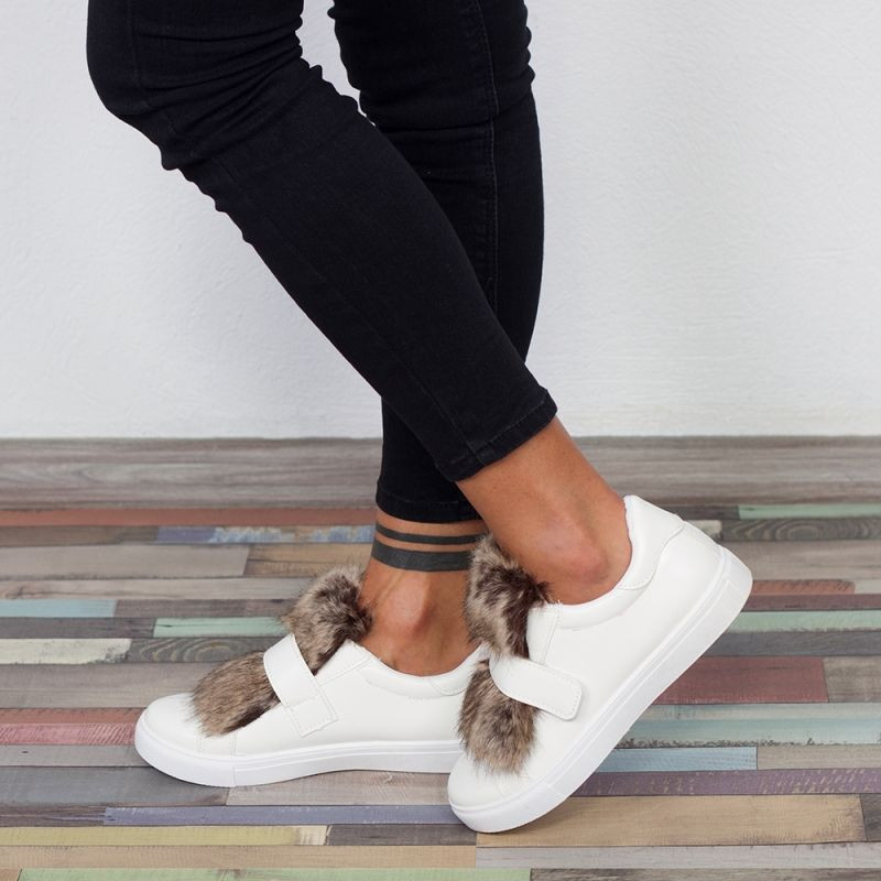 "Espadrile ""MireaFashion"" Cod: 6180-2 WHITE ( E13 )"