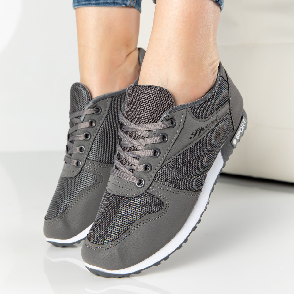 "Pantofi Sport ""MireaFashion"" Cod: 828-4 GREY (G13)"