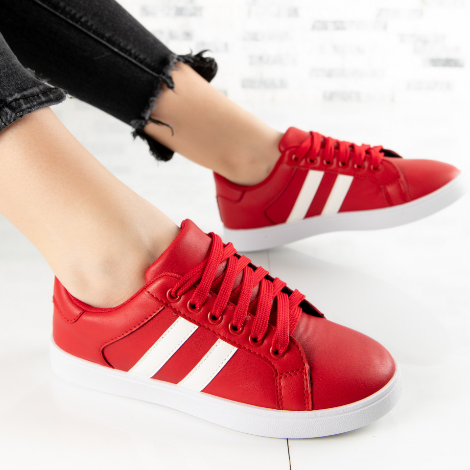 "Pantofi Sport ""MireaFashion"" Cod: A1803-5 RED (E3)"