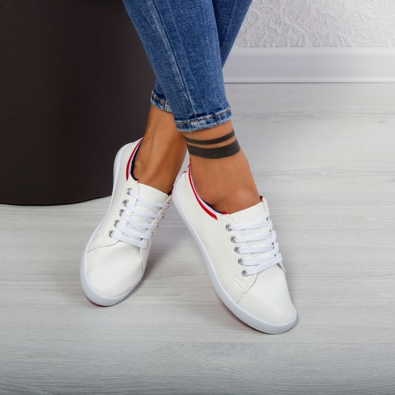 "Pantofi sport""MireaFashion"" Cod: LB1705 WHITE (S6)"