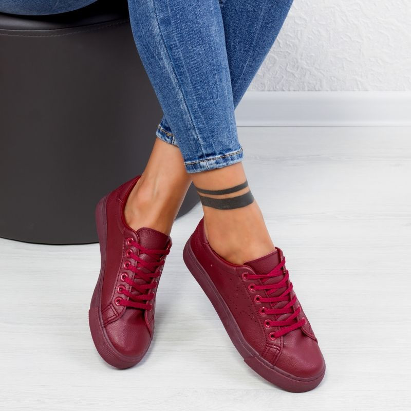 "Tenisi ""MireaFashion"" Cod: H2073 Wine Red (d4)"