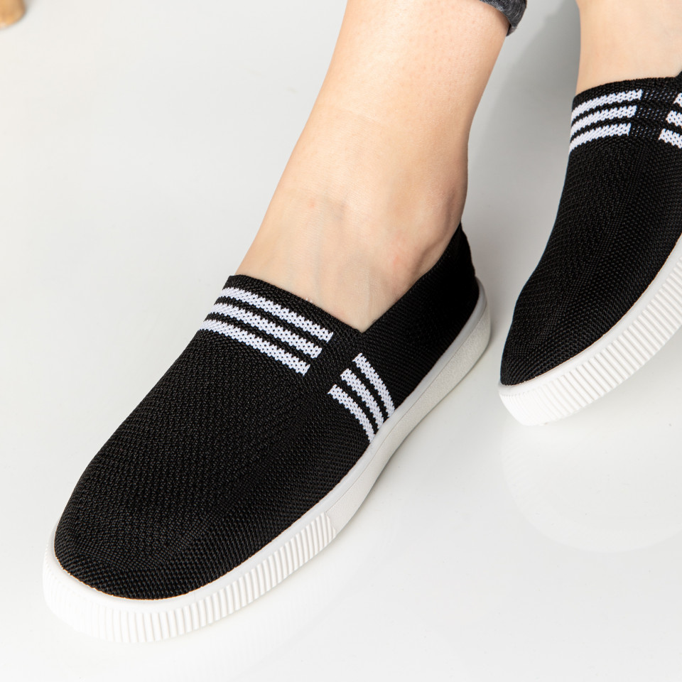 "Espadrile ""MireaFashion"" Cod: 196-1 BLACK"