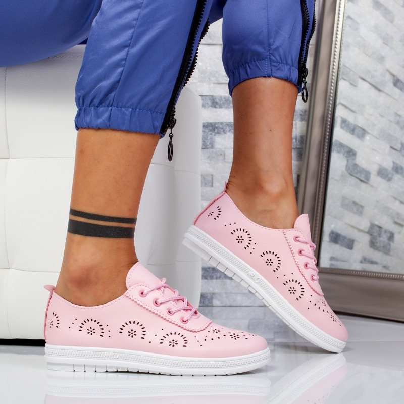 "Pantofi Sport ""MireaFashion"" Cod: F-9 PINK (WW1)"