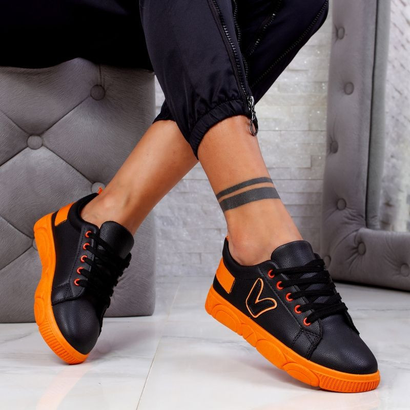 "Pantofi Sport ""MireaFashion"" Cod: HQ-104 BLACK (TT1)"