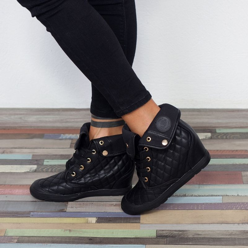 "Sneakers ""MireaFashion"" Cod: BL71 BLACK( i 11-12 )"