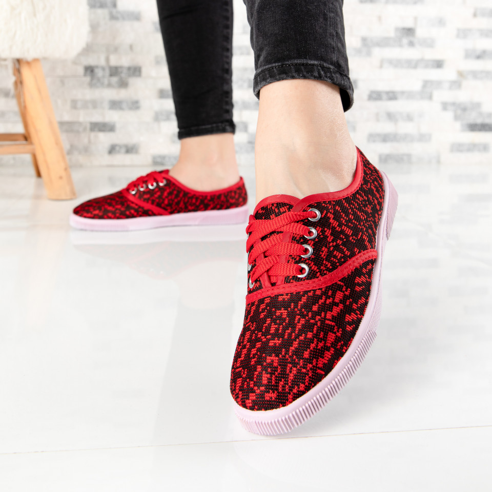 "Tenisi ""MireaFashion"" Cod: 422-3 RED (F6)"