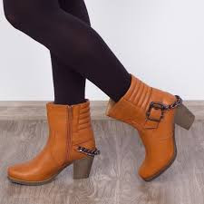 "Botine ""MireaFashion"" Cod: SH293 Camel (D5)"