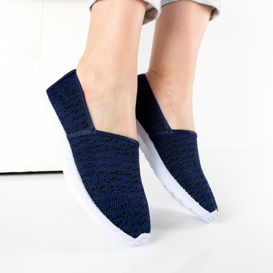 "Espadrile ""MireaFashion"" Cod: E-29 NAVY (Q6)"