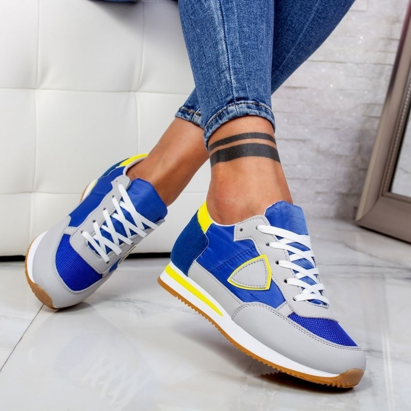 "Pantofi Sport ""MireaFashion"" Cod: 5201 ROYAL/BLUE (J15-16)"